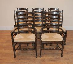 Ladder Back Kitchen Chairs - If the chairs in your dining room table have begun to look beyond their best, then you have a Ladder Back Chairs, Side Chairs, Dining Set, Dining Room Table, Queen Anne Chair, Antique Dining Chairs, Chippendale Chairs, Farmhouse Style Kitchen, Kitchen Chairs