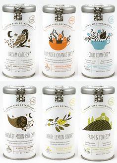 My Owl Barn: Package Design: Flying Bird Botanicals