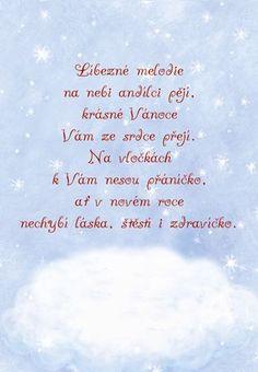 Christmas DIY :  Anděl zpívá  vánoční přání Winter Christmas, Christmas Time, Merry Christmas, Holiday, Christmas Cards, Christmas Ornaments, Christmas Pictures, Happy New Year, Advent