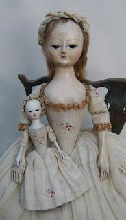 The Old Pretenders. Reproductions & Restoration of 17th & 18th century wooden dolls