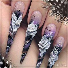 Акрил форева! #ногти #селфи #стилеты #nailswag #nails2inspire #instagood #manicure #shellac #fashion #fashionblogger #gelpolish #gelnails #nailclub #nails #gelpolish #manicure #nailstagram #follow #instalike #instashot #amazing #insta  #instalike #nsk #наращиваниеногтей #маникюр #лепкананогтях #acrylic #nailstagram #emi