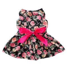 Sweetie Ribbon Floral Dog Dress for Dog Shirt Cozy Fashion Dog Clothes Pet Shirt,XS FurBaby,http://www.amazon.com/dp/B00CKK7IM6/ref=cm_sw_r_pi_dp_I2Nbtb1AK9HM2R3V