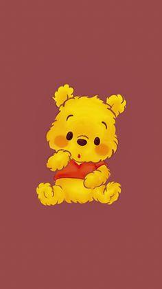 Winnie The Pooh Drawing, Cute Winnie The Pooh, Winne The Pooh, Disney Phone Wallpaper, Cartoon Wallpaper Iphone, Cute Cartoon Wallpapers, Winnie The Pooh Background, Disney Background, Cute Disney Drawings