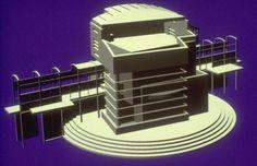 Malibu Beach House. Malibu California. Concept Model.