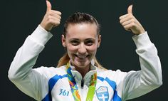 Anna Korakaki Wins First Medal for Greece in Rio Olympics