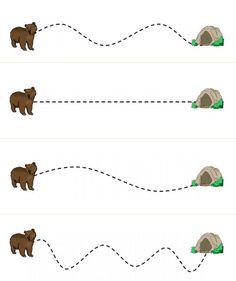 Art Activities For Toddlers, Preschool Learning Activities, Preschool Classroom, Preschool Worksheets, Preschool Crafts, Bear Theme Preschool, The Very Cranky Bear, After School Care, Montessori Toddler