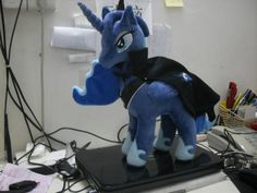plush my little pony princess Luna custom MLP I want this!!!!