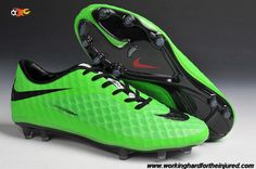 the latest 42bbc 048f4 Buy Phantom FG (Grass Green Black) Nike Hypervenom 2014 Soccer Cleats Nike  Soccer
