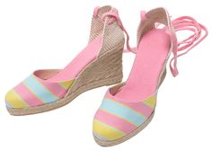 Striped wedge Espadrilles ELISENDA