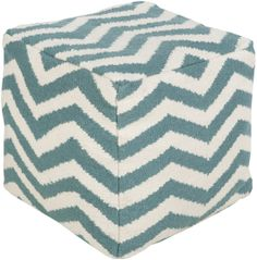 POUF-169: Surya | Rugs, Pillows, Art, Accent Furniture