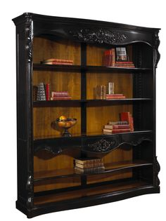 M-1549-401-ANBL Brouchard Bookcase now without writing on back panel available at French Heritage.