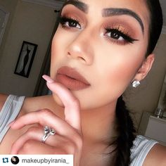 "Looks we love!   #beautyforall #beautymate  #Repost @makeupbyirania_ with @repostapp.  Numero dos  ""Cork"" by @doseofcolors   #doseofcolors #doseofcolors #makeupbyme #makeupartist #makeupdolls #makeupartistsworldwide #makeuplover #mua #makeupaddict #makeuptutorial #makeupjunkie #makeupobsessed #makeupmafia #makeupbrushes #undiscovered_muas #makeupbyme by beautymate.co"