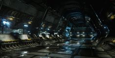"""This is a compilation of some of my environments built in The """"Bunker"""" and also the """"Swamp"""" were aggressive speed test completed in roughly 2 weeks time. Dark Fantasy Art, Sci Fi Fantasy, Fantasy World, Environment Concept Art, Environment Design, Underground Shelter, Sci Fi Games, Sci Fi Ships, Science Fiction Art"""