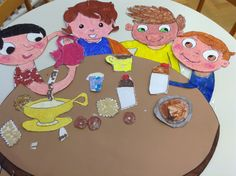 Decorazione sala mensa Scuola infanzia
