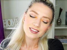 orange, orange makeup, daily makeup, maquillaje de dia, maquillaje naranja