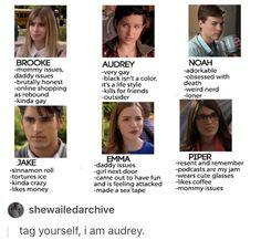 Scream MTV, Brooke Maddox, Audrey Jensen, Jake Fitzgerald, Emma Duval, Piper Shaw