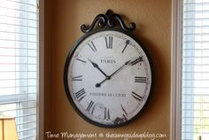 Time Management Tips - The Sunny Side Up Blog