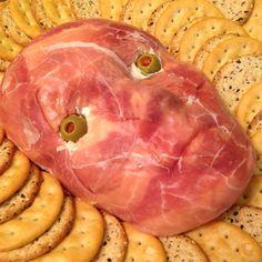Gruseliger Käseaufstrich für Halloween