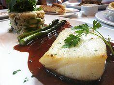 Chilean sea bass, American food, fish, fine dining, fancy restaurant