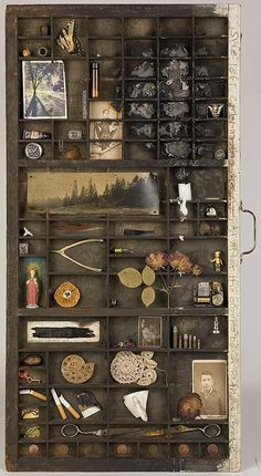 I have an old drawer like this one.  It will look good with some old family pictures and keepsakes displayed in it.
