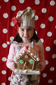 A To Zebra Celebrations: Party Feature - Gingerbread House Making Party II
