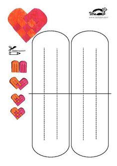 printables for kids Valentine Crafts For Kids, Valentines Art, Paper Crafts For Kids, New Year's Crafts, Crafts To Make, Fun Crafts, Danish Christmas, Paper Crafts Origami, Preschool Art