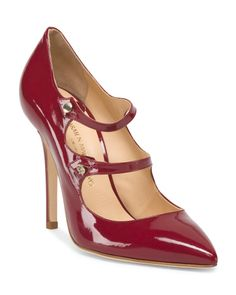 Patent Leather Red Pump