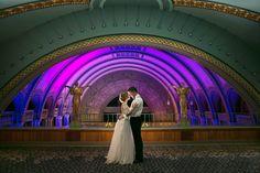 L Photographie . St. Louis Union Station Wedding, Grand Hall Wedding at St. Louis Union Station Hotel, Historic Wedding Venues St. Louis, Unique Wedding Venue St. Louis