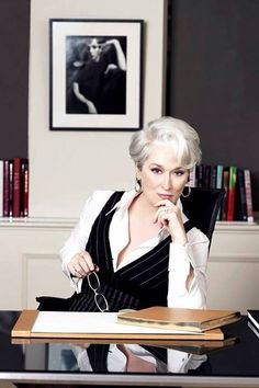 "Meryl Streep .... her leading role in ""The Devil Wears Prada"""