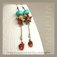Enchilada earrings by IMNIUM.deviantart.com