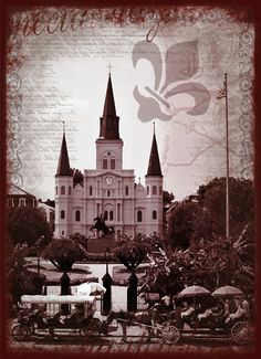 St Louis Cathedral, New Orleans #NOLA #NewOrleans