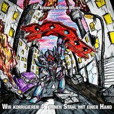 """Edgar Wasser x Cap Kendricks – """"Wir korrigieren 4 Tonnen Stahl mit einer Hand"""" (Free-EP)"""