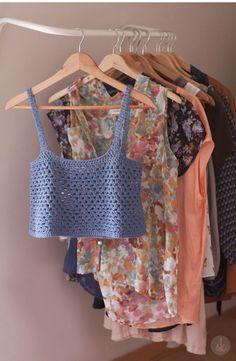 14442112914_4148eaffba_o Crochet Girls, Diy Crochet, Crochet Top, Crochet Summer Tops, Crochet Bikini Top, Diy Tops, Crochet Fashion, Handmade Clothes, Top Pattern