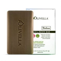 Try our Olivella 100% Virgin Olive Oil Bar Soap with Verbena Fragrance. Men enjoy the masculine verbena scent. Our natural bar soap contains no animal fats, no harsh man-made chemicals, no dyes nor color additives, idea for your daily skincare needs. $3.25