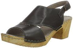 Manitu 910664, Damen Slingback Sandalen, Schwarz (schwarz), 39 EU - http://on-line-kaufen.de/manitu/39-eu-manitu-910664-damen-slingback-sandalen-mit-3