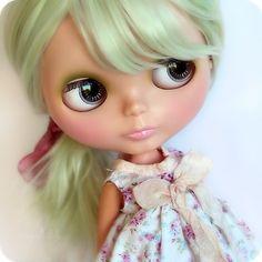 OOAK Re-Root CUSTOM Original 1972 VINTAGE Kenner BLYTHE Doll FLYNN By Angel~Lily