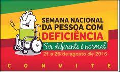 """Santa Filomena Atual: """"Semana Nacional de Pessoa com Deficiência"""" será c..."""
