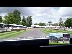 Up the Goodwood Hill Climb in a Ghost