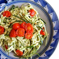 "Easy Paleo ""Pasta"" with Zucchini Noodles 