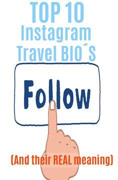 Top 10 Instagram Travel bio´s Instagram Captions Travel, Top 10 Instagram, Instagram Travel, Couple Photography Poses, Travel Photography, Health Insurance Companies, Travel Logo, Healthy People 2020 Goals, Travel Memories