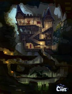 cave environment side scroller game - Google Search