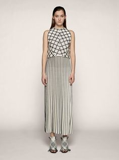 Proenza Schouler. Beautiful seperate pieces making a even more perfect combination, with the shoes cherrying the cake.