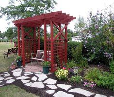 Garden Pergola: A Comfortable Seating for Family | Pergola Gazebos (shared via SlingPic)