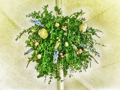 Floral sphere for yesterday's wedding at The Fells. Floral Design, Herbs, Plants, Wedding, Valentines Day Weddings, Floral Patterns, Herb, Plant, Weddings