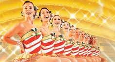 The Radio City Music Hall Christmas Spectacular in NYC featuring the Rockettes!