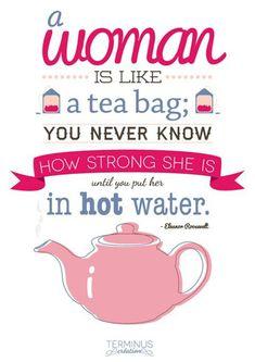 Strange quote but true....