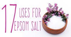 17 Amazing Uses for Epsom Salt… Some You Won't Believe - www.thenutritionwatchdog.com