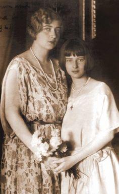 Alexander I of Yugoslavia & Princess Marie (Mignon) of Romania Princess Alexandra, Princess Beatrice, My Princess, Princess Victoria, Queen Victoria, Romanian Royal Family, Elisabeth I, Adele, Royal Family Trees