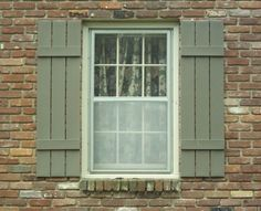 window shutters exterior style ideas | Here are several rustic ...