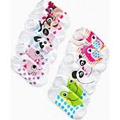 So Jenni Kids Socks, Girls Animal Face 6-Pack Socks sorry if this pops up on funny cute dogs board meant to post it hear!